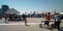 ののちゃんち宇野港ゆめ市場2011年3月