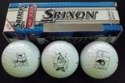 ののちゃんゴルフボール